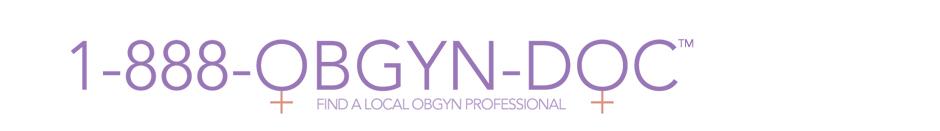 1-888-OBGYN-DOC
